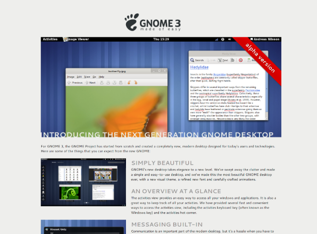 GNOME 3 - Made of Easy