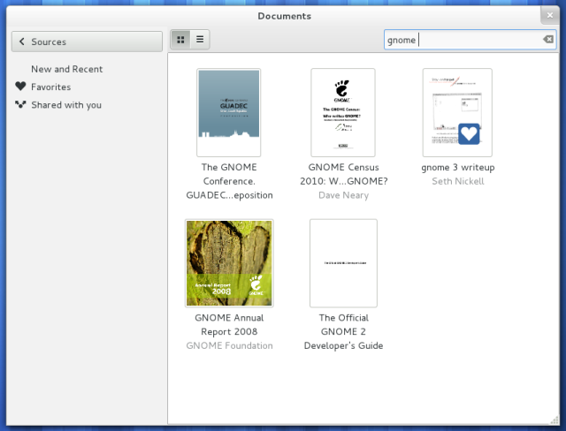 GNOME Documents