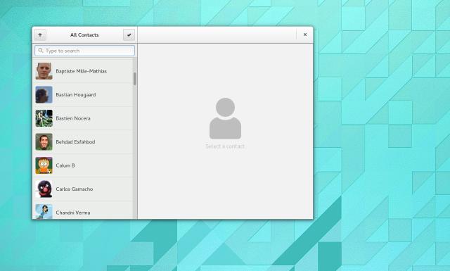 Contacts Screenshot